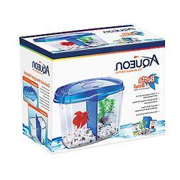 Aqueon 01206 Betta Bowl Starter Kit Multi-Colored