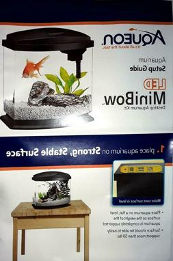 Aqueon Products 015905178020 LED Minibow Aquarium Kit, 1 Gal