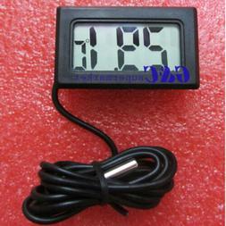 1/2/5 BLACK AQUARIUM TEMPERATURE GAUGE LCD DIGITAL THERMOMET