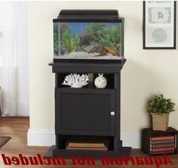 10-20 Gallon Elegant Fish Tank Holder Black Aquairum Stand S