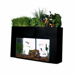 10 Gallon Fish Aquarium Kit Tank Glass Starter Fresh Water P