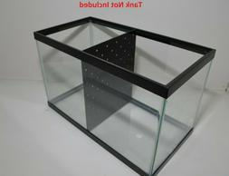 10 gallon fish tank divider no suction