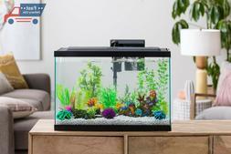 10 Gallon Fish Tank Home Office Betta Aquarium Kit Led Filte