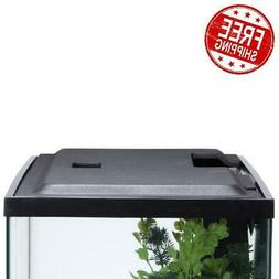 10 Gallon Fish TANK HOOD with LED Light Aquarium Cover with