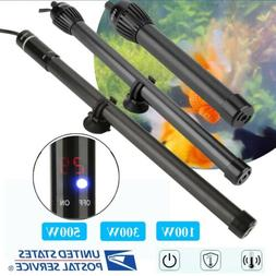 100/300/500W LED Aquarium Submersible Water Heater  for Fish