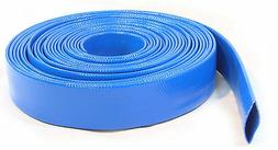 100Ft 30M Layflat PVC Water Delivery Tubing Discharge Pipe P