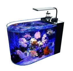 12-Gallon Saltwater Aquarium Marine Fish Tank Reef Tank, Pro