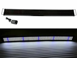 120cm 48 extendable aquarium bright lunar led