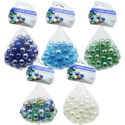 14-oz. Bags of Round Glass Floral Marbles Sea Glass Vase Fil