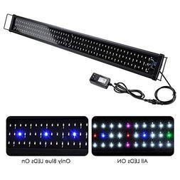 Yescom Multi-Color 156 LED Aquarium Light Full Spectrum Lamp