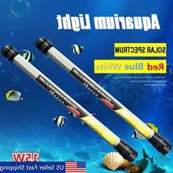 15W Aquarium Fish Tank LED Submersible Light Waterproof Fluo