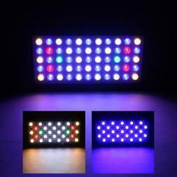 165W 55 LED Aquarium Light Full Spectrum Freshwater Coral Fi