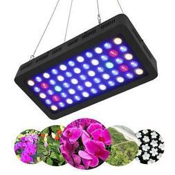 LED Aquarium Light 165W Full Spectrum Lamp Coral Fish Tank L