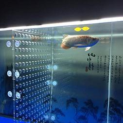 toyuto 17''x 18.8'' 75 Fish Tank Acrylic Divider Aquarium Is
