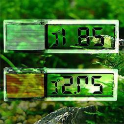 1pc LCD 3D Crystal Digital Measurement Fish Tank Reptile Aqu