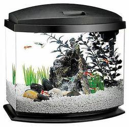 Aqueon 2.5 gallon Black Bow LED Aquarium Kit complete with a