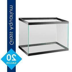20 Gallon Fish Tank Aquarium Terrarium Pet Aqua Reptiles Gol