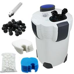 200 Gallon Aquarium Canister Filter UV 9w UV Sterilizer Fish