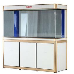 175 Gallon Fish Tank Aquarium Glass with LED Light and Stand