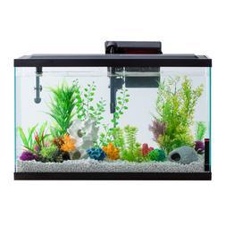29 Gallon Fish Aquarium Starter Pack with LED Fish Tank Comp