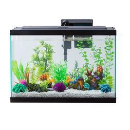 29 Gallon Fish Aquarium Starter Kit with LED Lighting Fish T