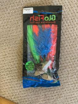 GloFish 29282 Multi-Pack 3 Glow In The Dark Aquarium Fish Ta