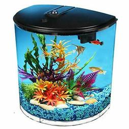 Koller Products 3.5-Gallon Aquarium Kit with Power Filter, L