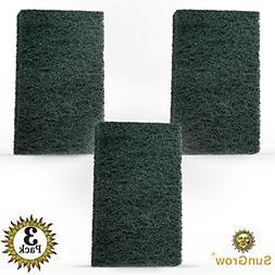 SunGrow 3 Algae Scrub Pads Remove Stubborn Algae from nooks