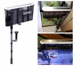 3-In-1 Hang-On Aquarium Fish Tank Filter Submersible Externa