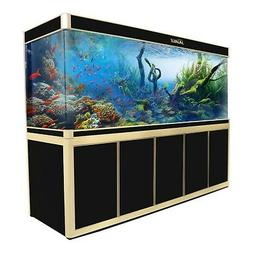 360 Gallon Fish Tank Aquarium with LED Light and Stand Bundl