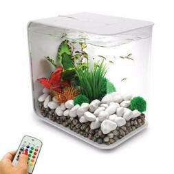 4 gal Biorb Life All-in-one Acrylic Aquarium Kit Multicolor