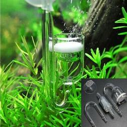 4PCS Fish Tank Accessories Glass CO2 Refiner Diffuser Kit Pa