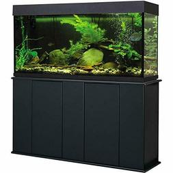 Aquatic Fundamentals, 55 Gallon, Black Upright Aquarium Stan