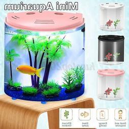 5l mini aquarium usb led ecological fish