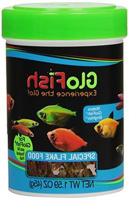 GloFish Special Flake Dry Fish Food for Brightness, 1.6 oz -