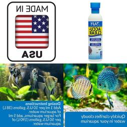 8 Oz Aquarium Water Clarifier Fast Acting Clears Cloudy Fres