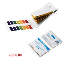 80 PH Tester Paper Strips Water Tester For Aquarium Fish Tan