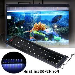 9w Aquarium fish tank light universal extendable bracket led