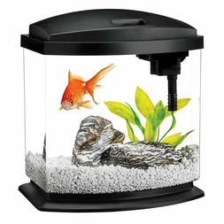 Aqueon LED MiniBow Aquarium Starter Kits LED Lighting Black