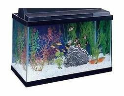 All Glass Aquariums AAG10015 Tank Black, 15-Gallon