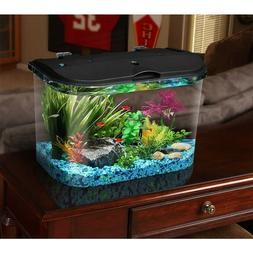 Acrylic Desktop Fish Tank Aquarium Filter Starter Kit 5 Gall