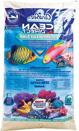 Carib Sea ACS00940 Ocean Direct Natural Live Sand for Aquari