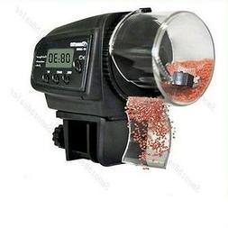 Adjustable LCD Automatic Aquarium Tank Pond Fish Food Feeder