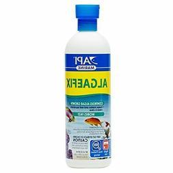 API MARINE ALGAEFIX Algae Control Solution 16-Ounce Bottle -