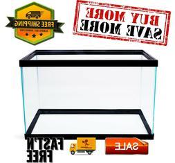"""Aqua Culture 10-Gallon Glass Aquarium 22""""L x 12""""W x 13.5""""H e"""