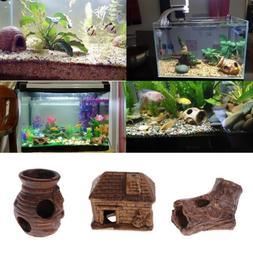 Aqua Fish Tank Underwater Tunnel Aquarium Ornament Fish Shri