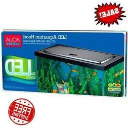 Aqua LED Light Aquarium Hood for 20/55-Gallon Indoor Aquariu