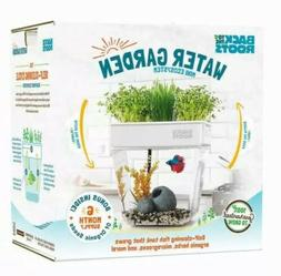 Aquaponic Self-Cleaning Fish Tank Water Garden Mini Ecosyste