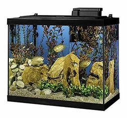 Aquarium 20 Gallon Fish Tank Kit, Includes LED Lighting and