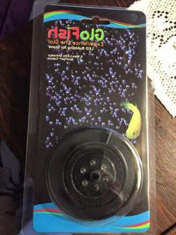 GloFish Aquarium Air Led Bubbler Enhance Colors 6 Blue LEDs